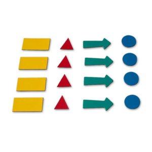 Символы магнитные 2х3 для доски, ассорти, 4 шт.