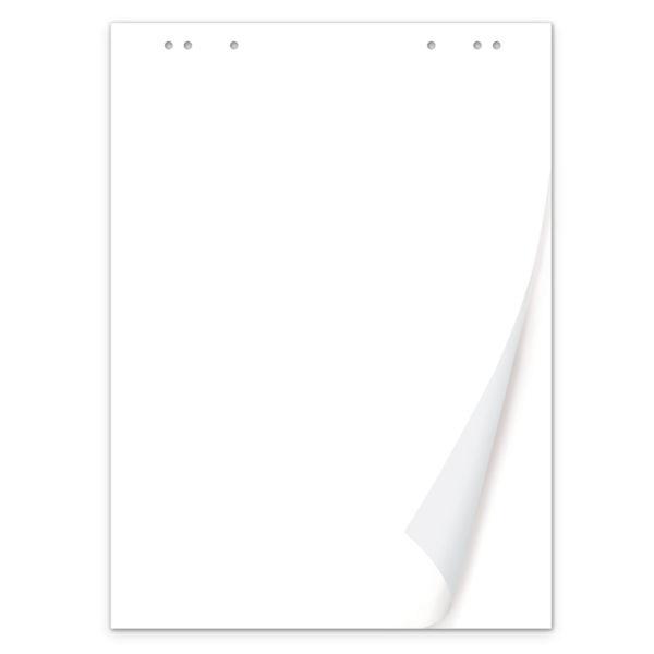 Блокнот для флипчарта BRAUBERG, 20 листов, чистые, 67,5х98 см, 80 г/м2, 128646