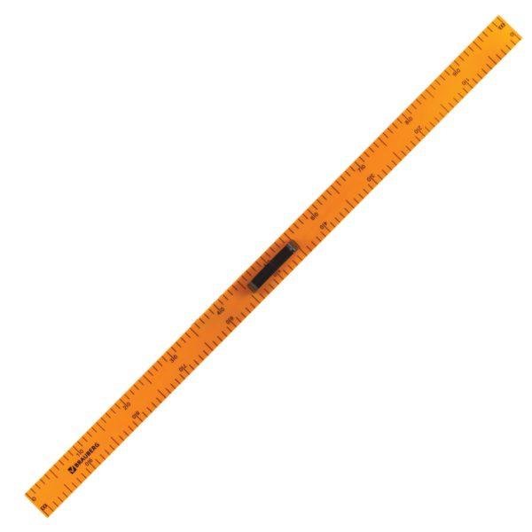 Набор чертежный для классной доски (2 треугольника, транспортир, циркуль, линейка 100 см), BRAUBERG, 210383