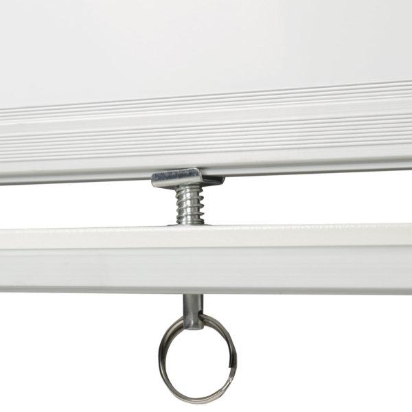 Доска магнитно-маркерная BRAUBERG 2-сторонняя, 60х90 см, передвижная, улучшенная алюминиевая рамка