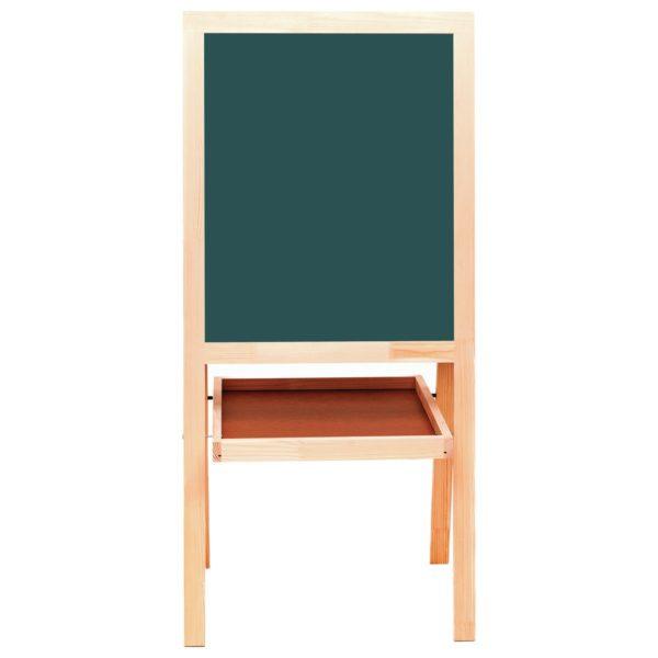 Доска-мольберт магнитно-маркерная/для мела BRAUBERG, двусторонняя, 56х67 см, зеленая/белая, 235519
