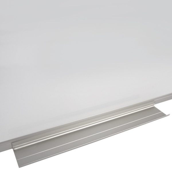 Доска магнитно-маркерная BRAUBERG стандарт, 60х90 см, алюминиевая рамка, 235521