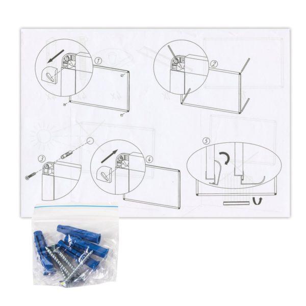 Доска магнитно-маркерная BRAUBERG стандарт, 100х180 см, алюминиевая рамка, ГАРАНТИЯ 10 ЛЕТ, Россия, 235524