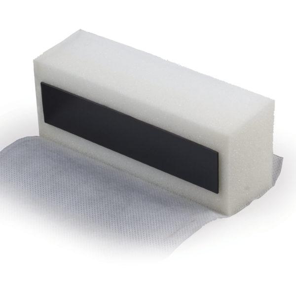 Стиратель магнитный для магнитно-маркерной доски BRAUBERG, 73х160 мм, Россия, 235528