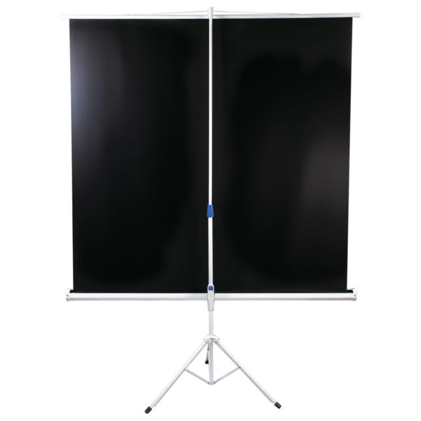 Экран проекционный BRAUBERG TRIPOD, матовый, на треноге, 200х200 см, 1:1, 236731