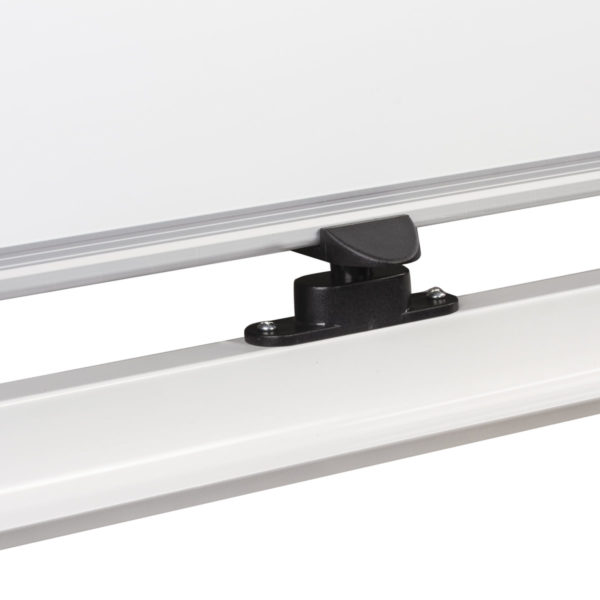 Доска магнитно-маркерная BRAUBERG PREMIUM, 2-сторонняя, 60х90 см, на стенде, ГАРАНТИЯ 10 ЛЕТ, 236850
