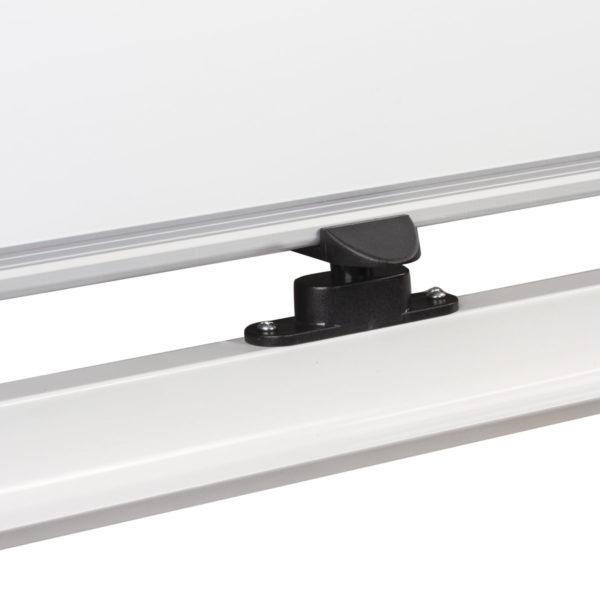 Доска магнитно-маркерная BRAUBERG PREMIUM, 2-сторонняя, 100х150 см, на стенде, ГАРАНТИЯ 10 ЛЕТ, 236873