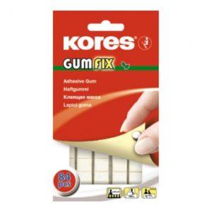Клейкая лента -масса KORES Gum Fix удаляемая 84 шт/уп 31600