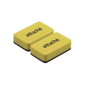 Губка-стиратель для маркерных досок Attache Economy 7x4x1.8cм, 2шт/уп