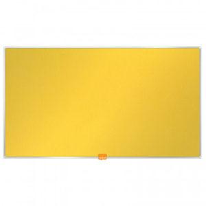 Доска для информации текстильная NOBO 55/1220х690мм желтый 1905320